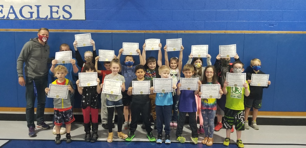 Students of the Month K-3